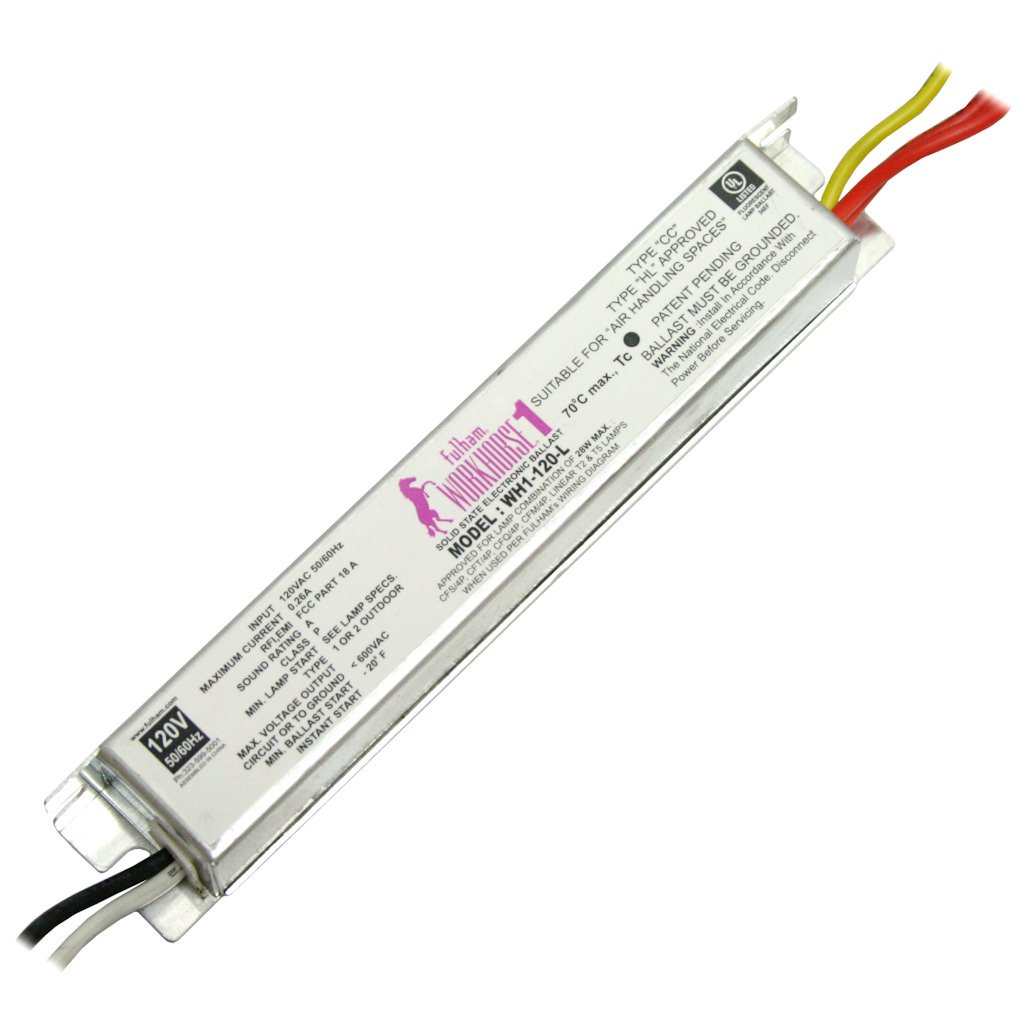 61GyBwpjLyL._SL1024_ amazon com fulham 10001 wh1 120 l fulham workhorse 1 ballast wh1 120 l wiring diagram at bayanpartner.co