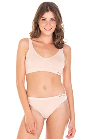 Boody Body EcoWear - Sujetador de Mujer sin Costuras, Soporte Ligero: Amazon.es: Ropa y accesorios