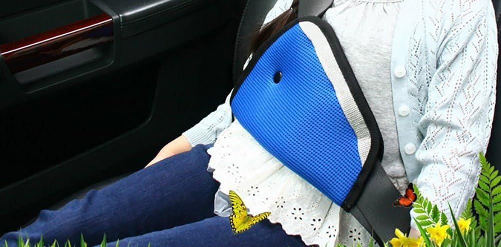 Demarkt Kinder Sicherheitsgurt Teller Dreieck Kindersitz G/ürtelhalter Auto Kind Sicherheit Sitz Fixer Schutz f/ür Kinder Auto Sicherheitsgurt Auto Car Safety Seat Belt Adjuster Beige