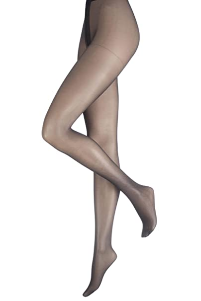 9165c381643 Charnos Women s 1 Pair 10 Denier Elegance Sheer Tights at Amazon Women s  Clothing store