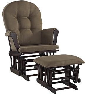 Amazon.com: Stork Craft silla otomana y mecedora canasto ...