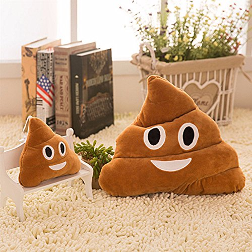 Emoji Smiley Emoticon Yellow Round Cushion Pillow Stuffed Plush Soft Toy (Poo (Kiss The Elder Costumes)