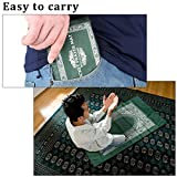 Hitopin Islamic, Travel Prayer Mat with Compass