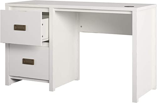 Little Seeds Monarch Hill Haven White Single Pedestal Kids Desks, - the best home office desk for the money