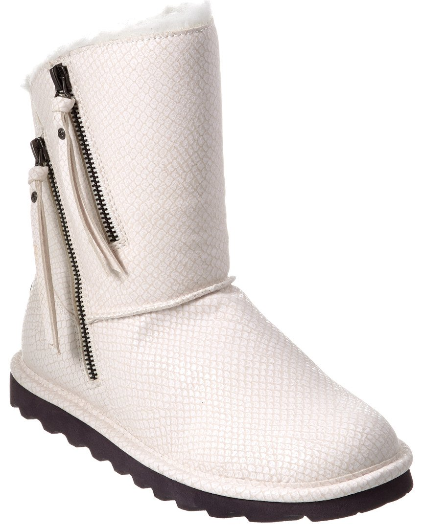 BEARPAW Women's Mimi Fashion Boot B01L0B6XJO 11 B(M) US|White Snake