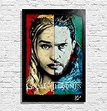 Daenerys Targaryen and Jon Snow from Game of