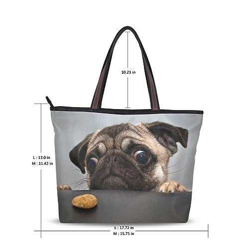 Pug Ladies Handbag