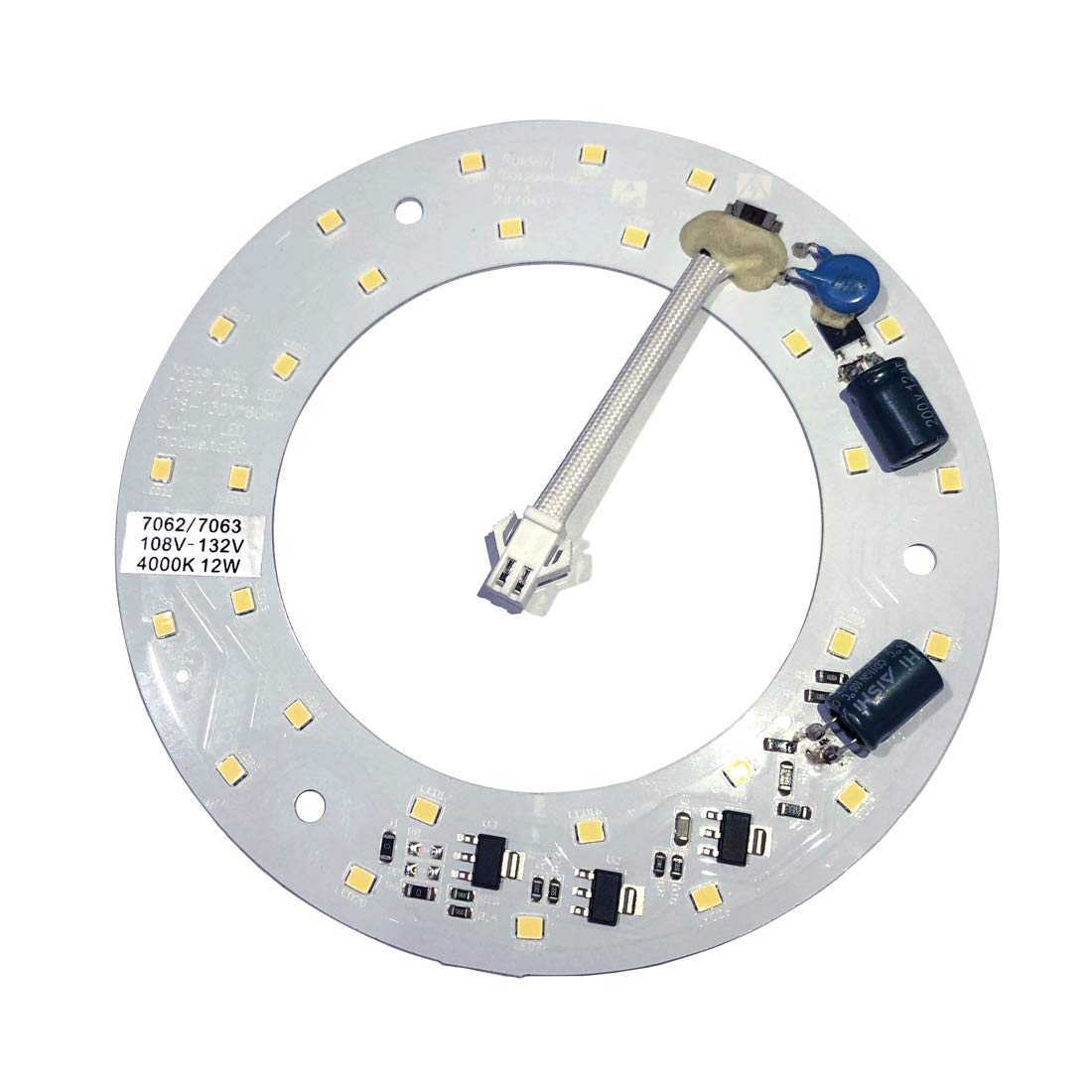 Reiga Warm White12W LED Light For Ceiling Fan,4000K,1000LM, Only Use to the Reiga Ceiling Fan