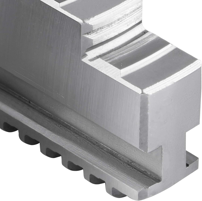 Mophorn Lathe Chuck Internal Jaw 3 Piece Internal Hard Jaw Set Steel 45# Material,Fit for K11-100 4 Inch