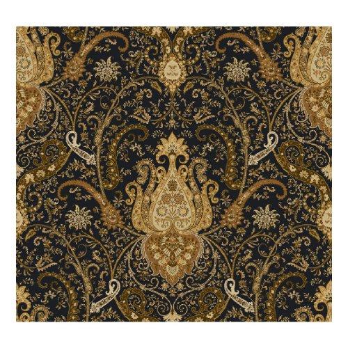 York Wallcoverings Waverly Classics Byzance Removable Wallpaper, Black/Amber/Rust/Ecru/Brown