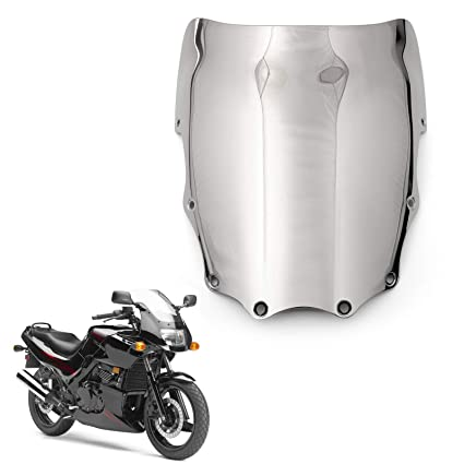 Areyourshop ABS Moto Parabrisas para Kawasaki EX500 Ninja ...