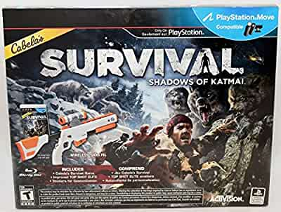 amazoncom ps3 cabelas survival shadows of katmai game