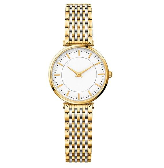 Reloj para mujer 2018 Nuevo reloj ultrafino Reloj de cuarzo resistente al agua para mujer