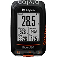 Bryton Rider 330 E Ordinateur GPS pour vélo, Noir