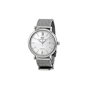 IWC RELOJ DE HOMBRE AUTOMÁTICO 40MM CORREA Y CAJA DE ACERO IW356505: Amazon.es: Relojes