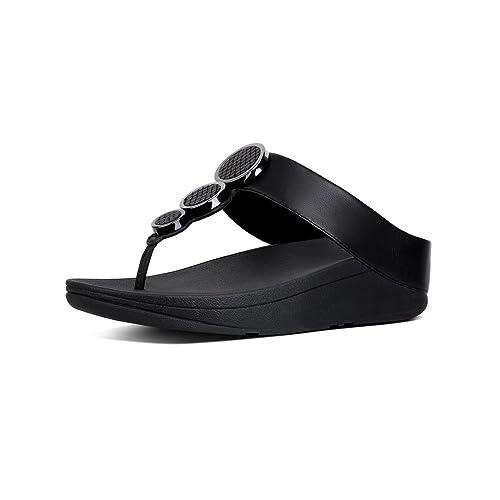 648ff96f441e Fitflop Women s s Halo Tm Toe Thong Sandals Flip Flops  Amazon.co.uk  Shoes    Bags