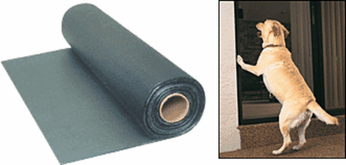 CRL 36'' Charcoal Paw-Proof Pet Screen