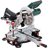 Metabo KGS 216 M 619260000 - Ingletadora con función de tracción para piezas anchas,…