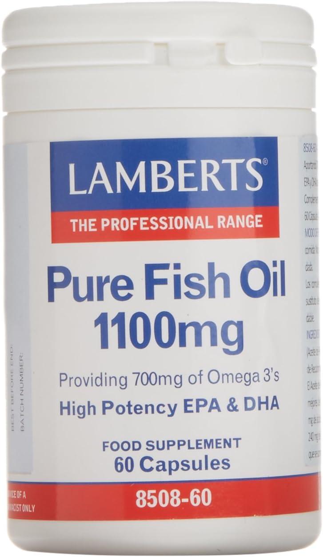 Lamberts Aceite de Pescado 1100 mg - 60 Cápsulas