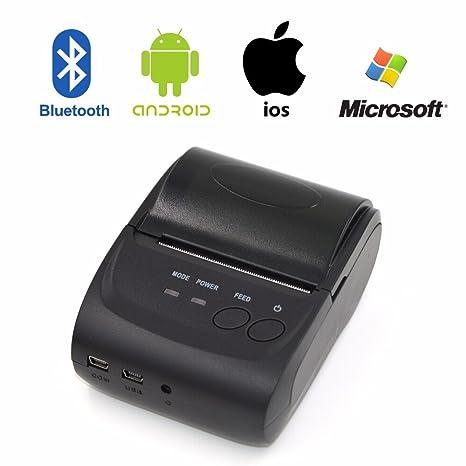 Amazon.com: Portable Mini Thermal Printer, Wireless ...