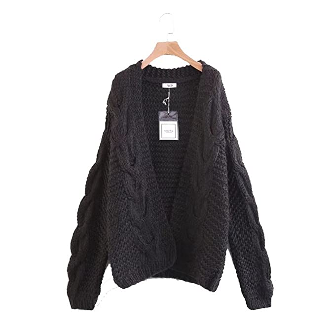 chaussures de séparation 9462b 0d162 I Love Mr Mittens Solid Oversized Knitted Cardigans Women ...