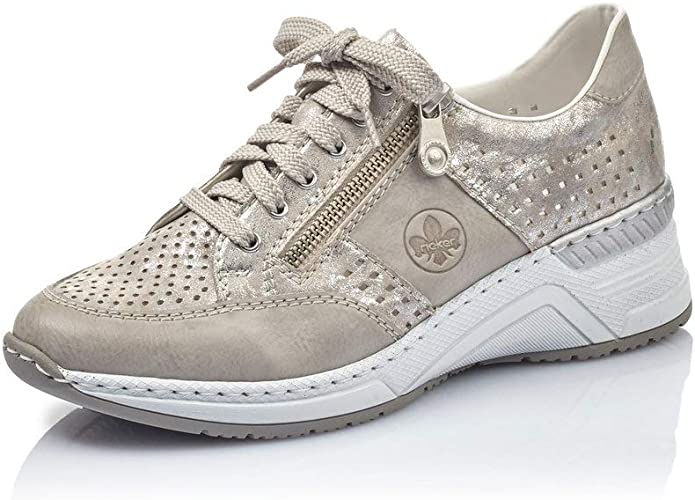 Flats N4327, Ladies Trainer, Sneaker