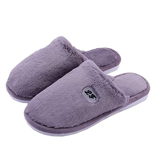 79db8c2676f AOOPOO Men Classic Home Slippers - Comfortable Warm Cosy Plush Non Slip  Indoor Outdoor Home Slippers for Boy in Autumn and Winter  Amazon.co.uk   Shoes   ...