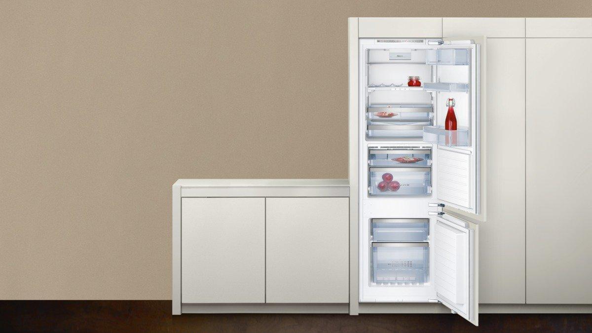 Siemens Kühlschrank Alarm Piept : Neff k345 einbau kühl gefrierkombination 177 5 cm a kühlteil