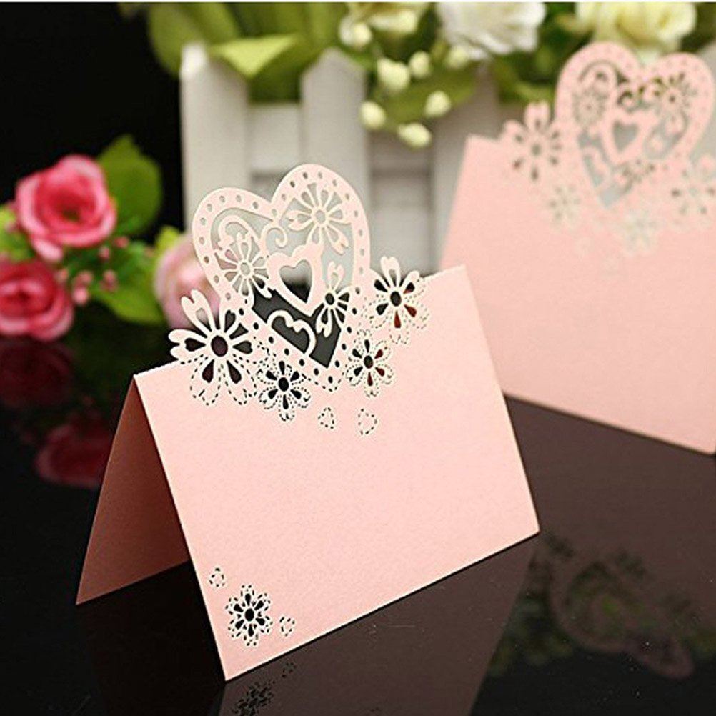 Amazon.com: Tinksky Place Cards Table Name Cards Name Tags for ...