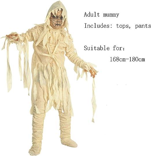 CAGYMJ Cosplay Ropa De Hombre Party,Horror Festival Fantasma ...