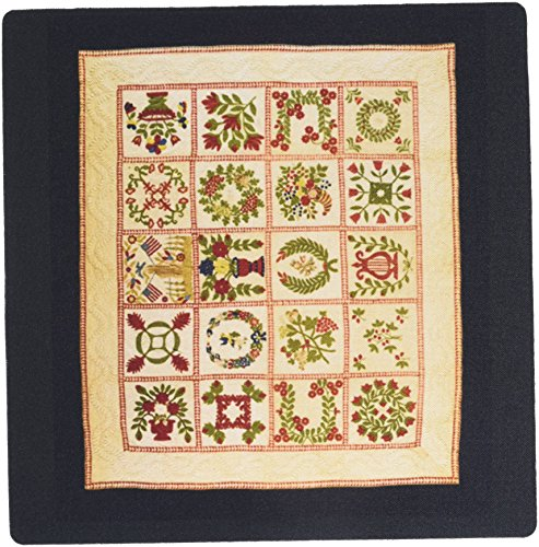 Price comparison product image 3dRose LLC 8 x 8 x 0.25 Inches Mouse Pad, Image of Baltimore 1848 Memorial Quilt - (mp_174258_1)