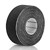Alomejor Sport Kinesiology Tape, Waterproof Breathable Muscle Adhesive Tape for Exercise, Sprains, Strains(Black)