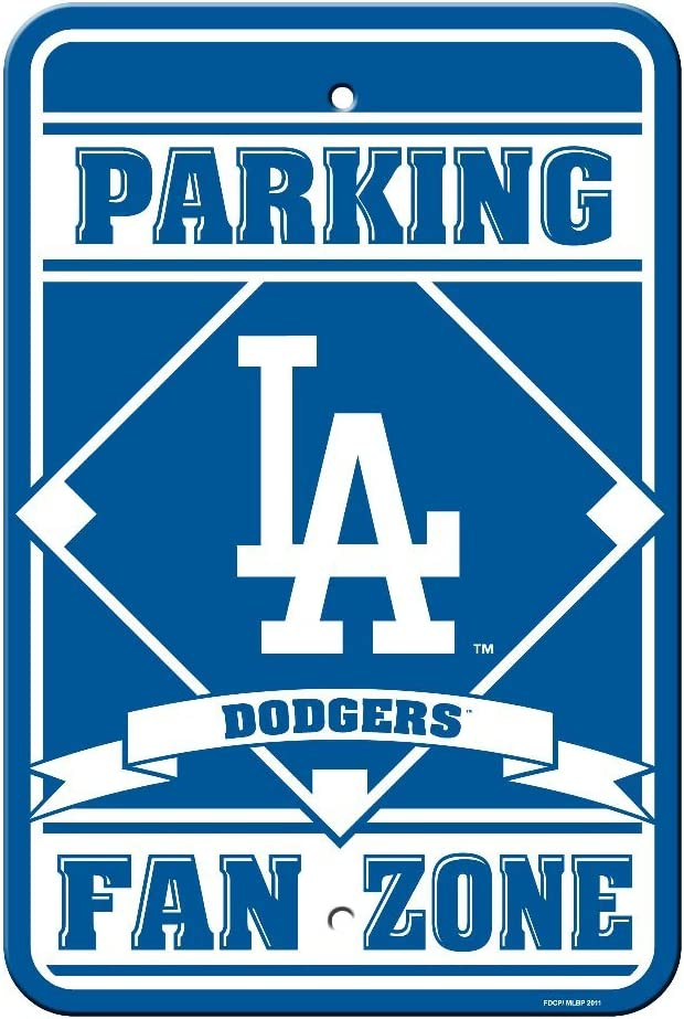 Fremont Die MLB Unisex-Adult Plastic Parking Sign