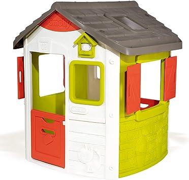 Oferta amazon: Smoby Jura Lodge II - Casita Infantil Personalizable, Color Verde (810500) , color/modelo surtido