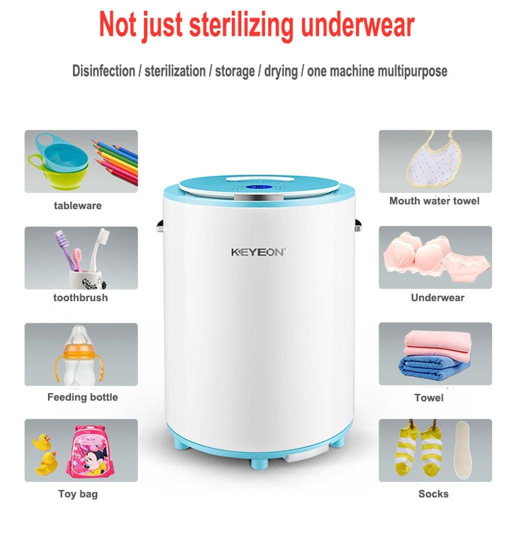 Esterilizador Esterilizador ultravioleta de la ropa interior, limpiador multiusos, voltaje clasificado 220V, conveniente para la ropa interior adulta, ...