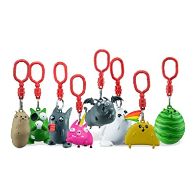 Exploding Kittens Exclusive Figure Hanger Blind Pack - Includes 1 Random Figure and Card for The Game: Toys & Games