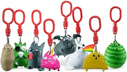 Exploding Kittens Backpack Hangers With Card~ Pig-a-corn