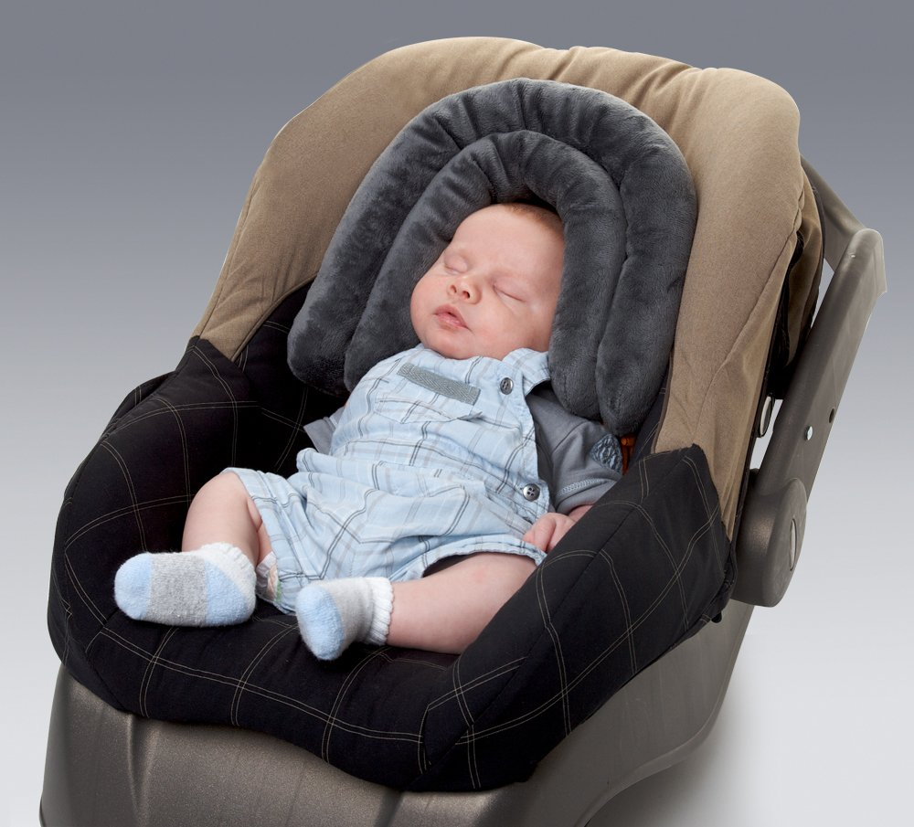Amazon Diono 2 In 1 Head Support Grey Car Seat Positioning Pillows Baby