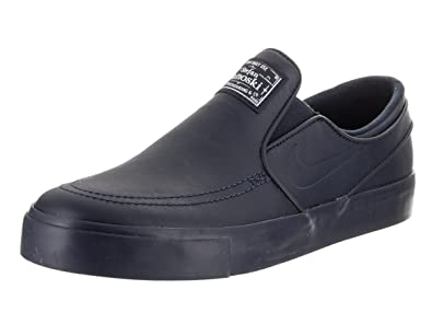 6f4bd4377d77 NIKE Men s Zoom Stefan Janoski Slip Prm Skate Shoe Obsidian Obsidian White 9