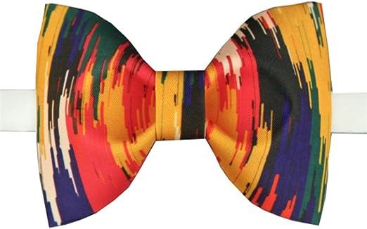 Yiph-Tie Lazo Ocio Corbata de Lazo para Hombre Color de Corbata de ...