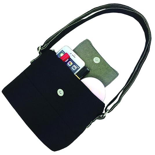 ... san francisco 0a499 5243f Mopaclle Girls Canvas Mini Cute Cross Body bag  Cell Phone Purse Wallet ... 63ca34f8ba