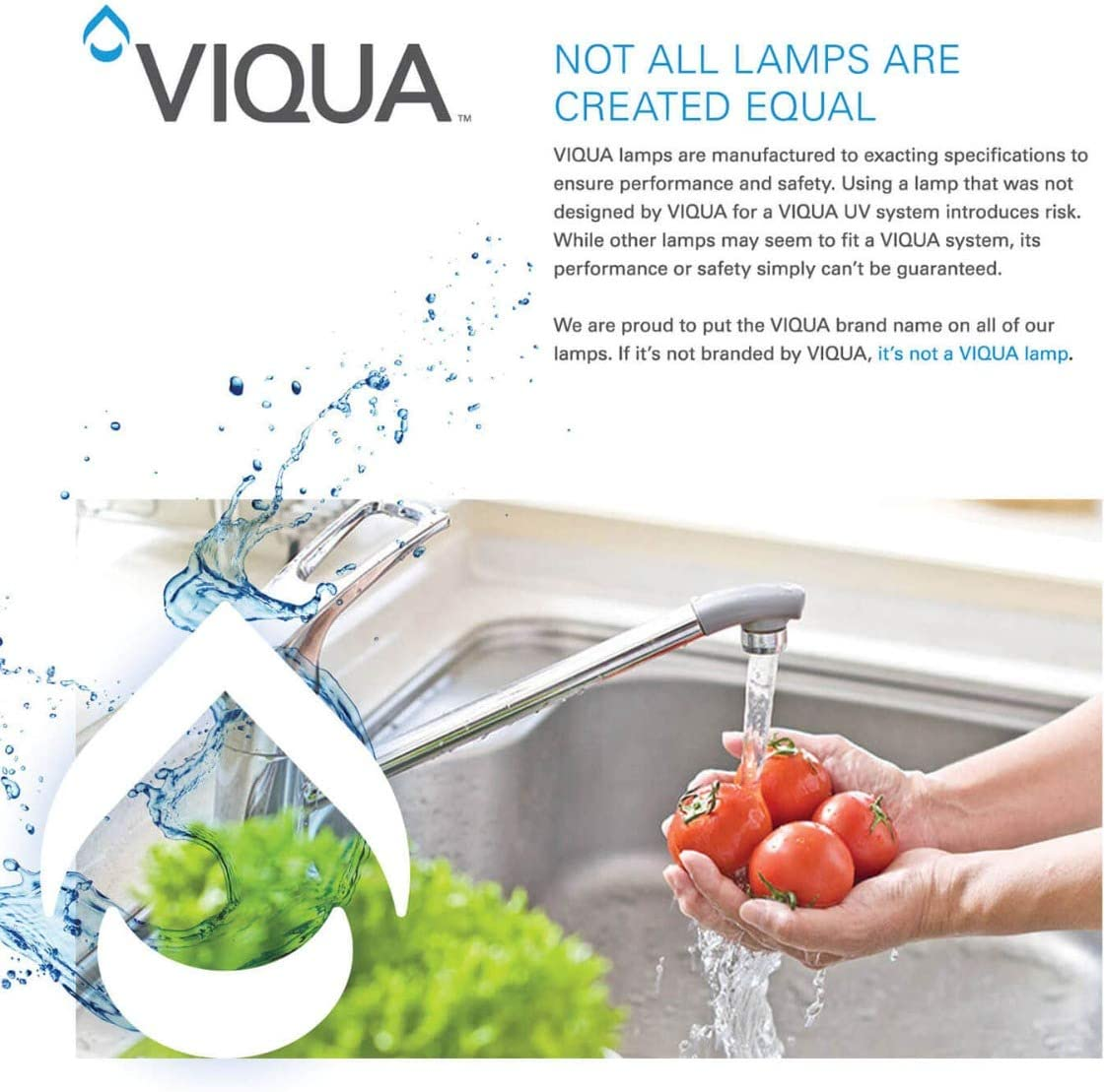Viqua IHS22-D4 Home Plus 3 Stage UltraViolet Water Disinfection System 12 GPM