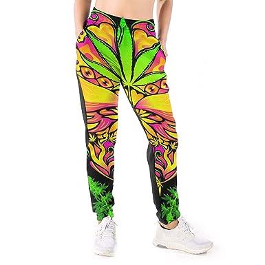 Yaitty Pantalones Deportivos Indios étnicos de Cannabis Malas ...