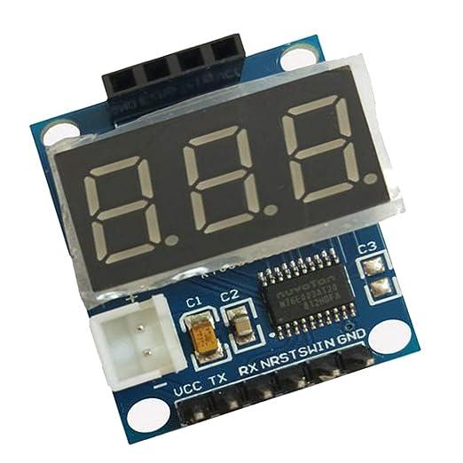 Homyl Ultrasonidos Detector de Rango Tablero con Pantalla LCD Digital Sensor de Placa a Prueba de Agua: Amazon.es: Bricolaje y herramientas