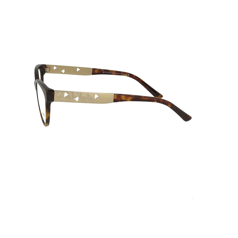 Amazon.com: Bvlgari Mujer bv4154b anteojos, negro: Clothing