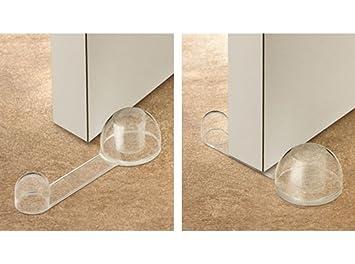 INOFIX 2760B123 - Tope Puerta Adhesivo Reten Trnsp: Amazon.es: Bricolaje y herramientas