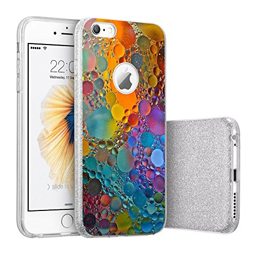 Price comparison product image iPhone 6/6s case Beryebi Bling Bling Ultra Thin Interesting Design Biling Biling Soft TPU Protective Cover (6, iPhone 6/6s Plus)