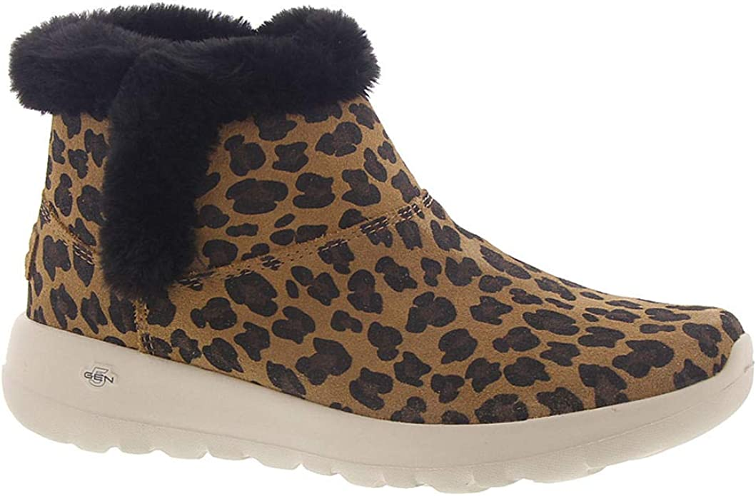 Skechers On The Go Joy Snow Kitty Sneakers Stiefel Damen Braun