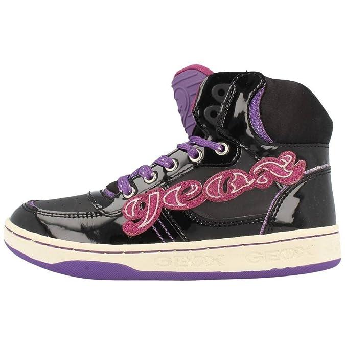 Calzature sportive per ragazza, color Nero , marca GEOX, modelo Calzature Sportive Per Ragazza GEOX JR MALTIN GIRL Nero