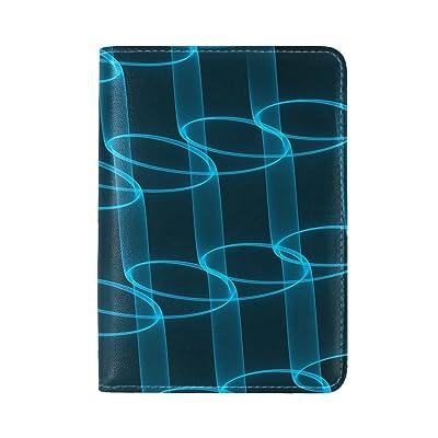 new Patterns Ornament Plexus Leather Passport Holder Cover Case Travel One Pocket